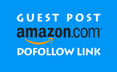 Guest Post On Amazon DA98 with permanent Backlink
