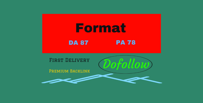 Publish a Dofollow guest post on Format.com (DA 87)