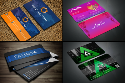 Design 2  business cards ,Invitation,birthday or wedding card