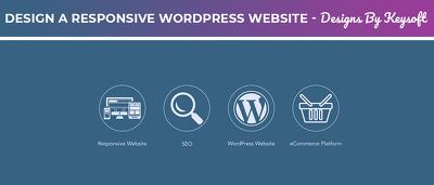 Design a Responsive SEO Friendly Wordpress Website