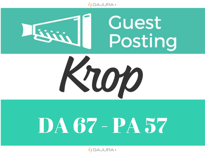publish a Guest Post on Krop - Krop.com DoFollow link - DA 67