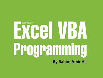 Develop Excel Macro using VBA to automate any piece of work