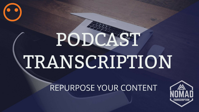 Transcribe 1 hour of your podcast