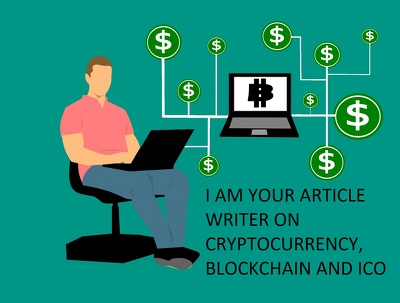 Write Articles On Cryptocurrency, Blockchain And ICO
