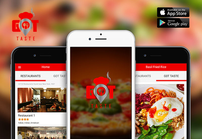 Develop the food ordering app for iphone and Android.