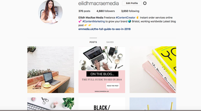 Create a months worth of social media posts for lifestyle brands