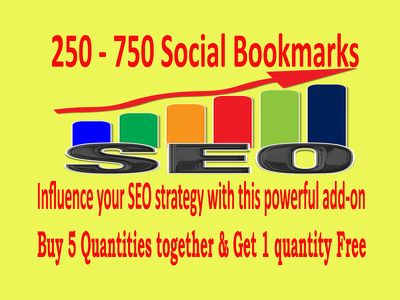 250+ Social Bookmarks - Influence your SEO strategy