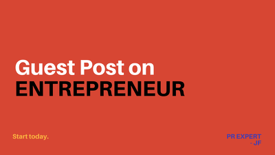 Publish a guest post for you on high-tier blogs