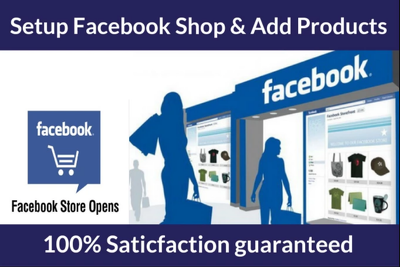 Setup Facebook Shop, Store And Add Products