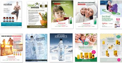 Create an print advertisement