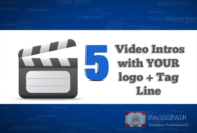 Create 5 amazing video intros
