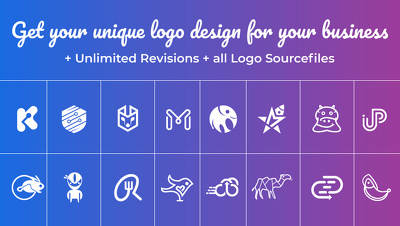 Design Unique Logo + BCard + Unlimited Revisions + SourceFiles