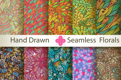 Design 3 Seamless Pattern Designs In One Order, Textile And Fabr