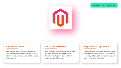 Optimize your your server for magento