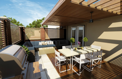 Design your patio & roof terrace