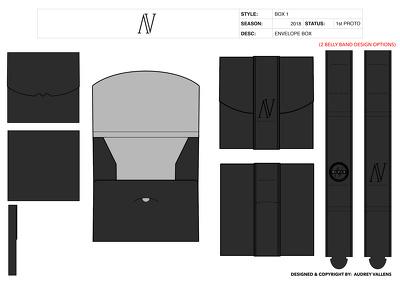Packaging, hang tags, sew in brand labels, branding tech packs