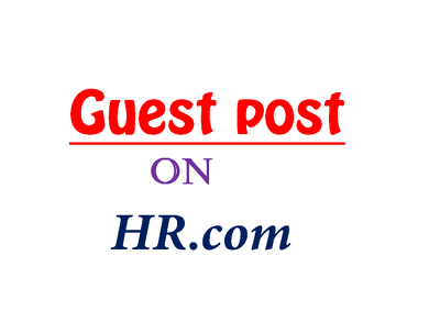 Publish Guest Post with Link on HR. com
