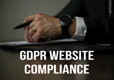 Ensure your website, online forms and emails are GDPR Compliant