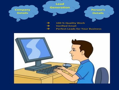 Provide 100 Targeted  Leads by Lead Generation