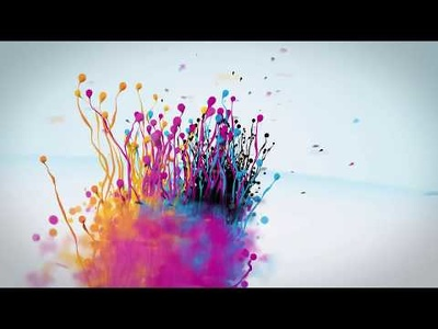 Make a 3D Particles Splash logo reveal intro