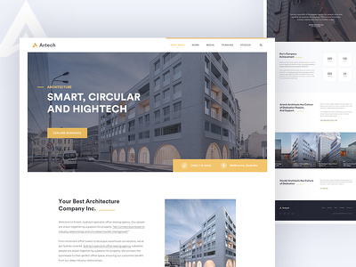 Design UI/UX Professional Website Homepage |Landing Page PSD/XD