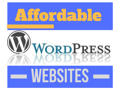 Create a new wordpress website for your business/service/product