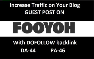Publish guest post on news and lifestyle blog fooyoh.com, DA-45