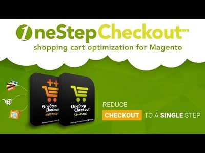 Install one step checkout on your Magento v1/v2 store