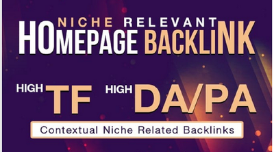 10 Guest Post on Niche Relevant Blogs. High DA Homepage PBN