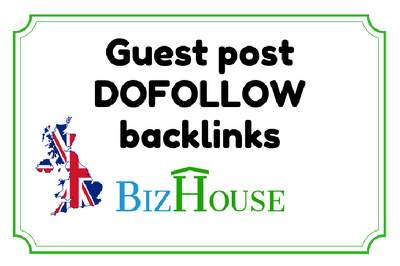 Guest post on UK Website - Dofollow Backlink