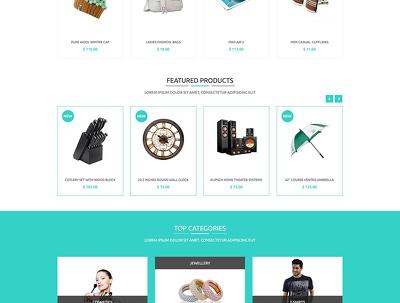Design Website (WordPress, Wix, Magento, Ecommerce, Woocommerce)