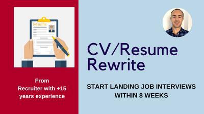 Resume that lands job interviews (Questionnaire Method)