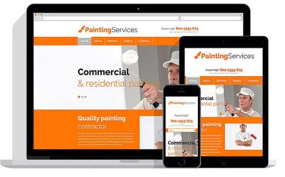 5 page Responsive Website Design & Develop