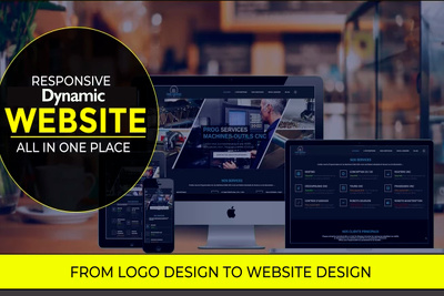 Be your professional graphic or web designer for 2-3 hours