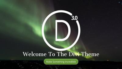 Design DIVI 3.0  Wordpress website