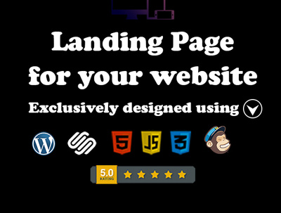 Create A Beautiful Landing Page For Your Site