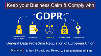 Make your business and website GDPR Compliant