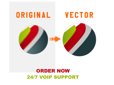 vector your logo / image with revisions