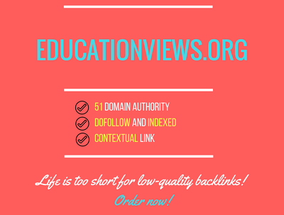 Add a guest post on educationviews.org