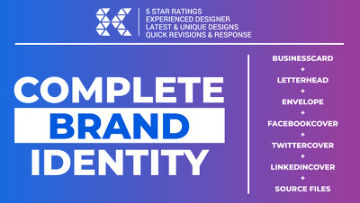 Design a Complete Corporate Brand Identity for your Business