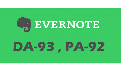 "Write And Publish A Guest Post On ""Evernote"" DA-93, Alexa-494"