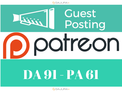Publish Guest Post On Patreon, Patreon.com DA 91