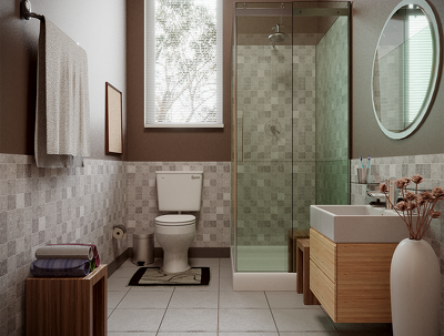 Design the best bathroom that you've ever seen and high quality