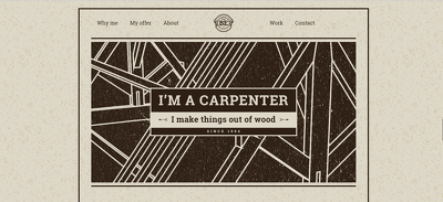 Build a Carpenters Website for a Tradesman