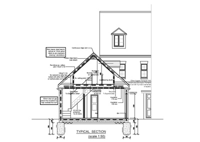 Provide UK Building Regulations with Structural Design.