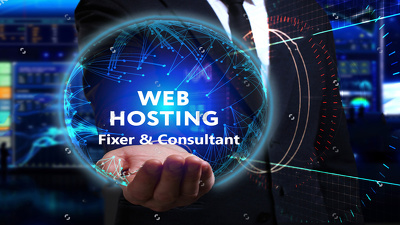 Be Your Hosting Issue Fixer And Consultant (Cpanel)