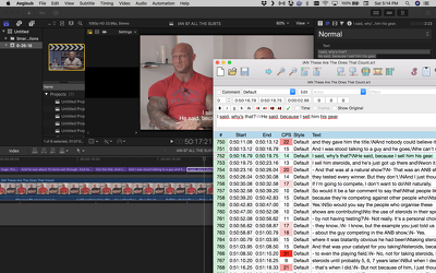 Convert your Final Cut Pro 7/X subtitles to srt