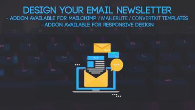 Design your Email Newsletter