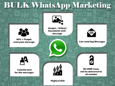 Do bulk whatsapp marketing