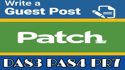 Publish a Guest Post on Patch PR7 DA83 TF42 CT46 [Limited offer]